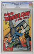 Golden Age (1938-1955):War, Don Winslow of the Navy #62 Crowley Copy pedigree (Fawcett, 1948)CGC NM+ 9.6 Off-white pages. This handsome copy is unsurpa...