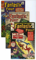 "Silver Age (1956-1969):Superhero, Fantastic Four Group (Marvel, 1964-76) Condition: Average FN. Includes #31 (early Avengers crossover), 51 (classic ""This Man... (Total: 13 Comic Books)"