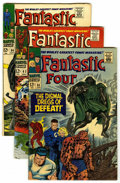 Silver Age (1956-1969):Superhero, Fantastic Four Group (Marvel, 1967-74) Condition: Average FN/VF. Includes 58 (vs. Doctor Doom), 62, 64, 71, 81 (Crystal join... (Total: 10 Comic Books)