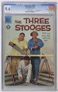 Silver Age (1956-1969):Miscellaneous, Four Color #1170 and 1187 Three Stooges File Copies CGC Group (Dell, 1961). Should you bid on two, high-grade, slabbed, file... (Total: 2 Comic Books)