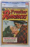 "Golden Age (1938-1955):Romance, Frontier Romances #2 Davis Crippen (""D"" Copy) pedigree (Avon, 1950)CGC FN/VF 7.0 Off-white to white pages. Manny Stallman p..."