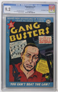 """Golden Age (1938-1955):Crime, Gang Busters #23 Davis Crippen (""""D"""" Copy) pedigree (DC, 1951) CGC NM- 9.2 Off-white to white pages. Bernard Baily cover. Bai..."""
