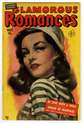 Golden Age (1938-1955):Romance, Glamorous Romances #55 (Ace, 1951) Condition: VG/FN. Painted cover.Overstreet 2006 VG 4.0 value = $14; FN 6.0 value = $21. ...