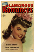 Golden Age (1938-1955):Romance, Glamorous Romances #61 (Ace, 1952) Condition: FN/VF. Painted cover.Overstreet 2006 FN 6.0 value = $21; VF 8.0 value = $37. ...
