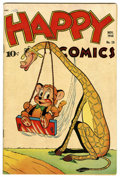 Golden Age (1938-1955):Funny Animal, Happy Comics #28 (Standard, 1948) Condition: VF. Based on thiscopy's provenance, we think it is probably the Mile High copy...