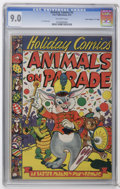 """Golden Age (1938-1955):Funny Animal, Holiday Comics #2 Davis Crippen (""""D"""" Copy) pedigree (StarPublications, 1951) CGC VF/NM 9.0 Off-white pages. Classic coverb..."""