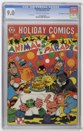 """Golden Age (1938-1955):Funny Animal, Holiday Comics #6 Davis Crippen (""""D"""" Copy) pedigree (StarPublications, 1952) CGC VF/NM 9.0 Off-white to white pages. Cover..."""