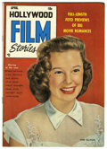 Golden Age (1938-1955):Non-Fiction, Hollywood Film Stories #1 (Feature/Prize Publications, 1950)Condition: VF. June Allyson photo cover. Overstreet 2006 VF 8.0...
