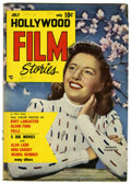 Golden Age (1938-1955):Non-Fiction, Hollywood Film Stories #3 (Feature/Prize Publications, 1950)Condition: VG. Barbara Stanwyck photo cover. Overstreet 2006 VG...