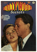 Golden Age (1938-1955):Romance, Hollywood Secrets #4 (Quality, 1950) Condition: VF/NM. Janet Leighphoto cover. Overstreet 2006 VF/NM 9.0 value = $97; NM- 9...