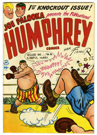 Humphrey Comics #1 Mile High pedigree (Harvey, 1948) Condition: VF-. Ham Fisher cover. Bob Powell art. Overstreet 2006 V...