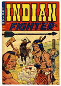 """Golden Age (1938-1955):Western, Indian Fighter #2 Davis Crippen (""""D"""" Copy) pedigree (Youthful Magazines, 1950) Condition: VG. Doug Wildey cover and art. Ove..."""