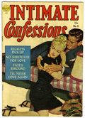 Golden Age (1938-1955):Romance, Intimate Confessions #6 (Realistic Comics, 1952) Condition: FN+.Painted cover. Overstreet 2006 FN 6.0 value = $66; VF 8.0 v...