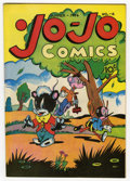 Golden Age (1938-1955):Funny Animal, Jo-Jo Comics #2 Mile High pedigree (Fox Features Syndicate, 1946)Condition: NM-. This excellent copy of the title's second ...