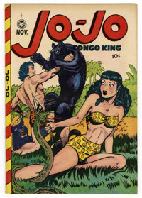Jo-Jo Comics #21 (Fox Features Syndicate, 1948) Condition: VF. A. C. Hollingsworth art. Overstreet 2006 VF 8.0 value = $...