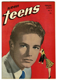 Keen Teens #3 Mile High pedigree (Leader Enterprises, 1947) Condition: NM. Photo cover. Overstreet 2006 NM- 9.2 value =...