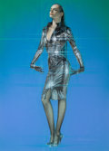 Pin-up and Glamour Art, HAJIME SORAYAMA (Japanese, b. 1947). Star Girl. Gouache andairbrush on paper. 27.25 x 19.75 in.. Signed lower right. ...