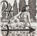 Pulp, Pulp-like, Digests, and Paperback Art, VIRGIL FINLAY (American, 1914-1971). Sagittarius-December, EveryWoman's Daily Horoscope illustration. Pen and ink on bo...