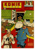 "Golden Age (1938-1955):Miscellaneous, Komik Pages #10 (Chesler, 1945) Condition: FN. Says #1 on the inside. Features ""Land O' Nod by Rick Yager, Animal Crackers, ..."