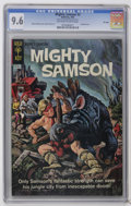 Silver Age (1956-1969):Science Fiction, Mighty Samson File Copies CGC Group (Gold Key, 1965-67). Includes a CGC NM+ 9.6 graded copy of #3 and NM 9.4 graded copies o... (Total: 4 Comic Books)
