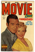Golden Age (1938-1955):Romance, Movie Love #22 (Famous Funnies, 1953) Condition: NM-. John Payneand Coleen Gray photo cover. Overstreet 2006 NM- 9.2 value ...