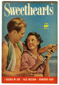 "Golden Age (1938-1955):Romance, Sweethearts #88 Davis Crippen (""D"" Copy) pedigree (Fawcett, 1950)Condition: VF+. Photo cover. Overstreet 2006 VF 8.0 value ..."