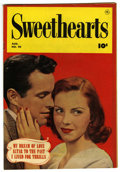 "Golden Age (1938-1955):Romance, Sweethearts #90 Davis Crippen (""D"" Copy) pedigree (Fawcett, 1950)Condition: VF. Photo cover. Overstreet 2006 VF 8.0 value =..."