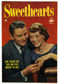 "Golden Age (1938-1955):Romance, Sweethearts #91 Davis Crippen (""D"" Copy) pedigree (Fawcett, 1950)Condition: VF-. Photo cover. Overstreet 2006 VF 8.0 value ..."