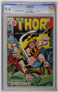 Bronze Age (1970-1979):Superhero, Thor #192 (Marvel, 1971) CGC NM 9.4 off-white pages. Last 15 cent issue. Silver Surfer cameo. John Buscema cover and art. Ov...