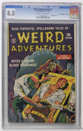"Golden Age (1938-1955):Horror, Weird Adventures #3 Davis Crippen (""D"" Copy) pedigree (P.L.Publishing Co., 1951) CGC VF+ 8.5 Off-white to white pages. Bond..."