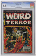 """Golden Age (1938-1955):Horror, Weird Terror #7 Davis Crippen (""""D"""" Copy) pedigree (Comic Media,1953) CGC FN+ 6.5 Off-white pages. Don Heck cover and art. O..."""