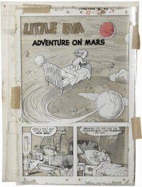 "Joe Kubert and Norman Maurer Studio - ""Little Eva 3-D"" #2 Page Original Art, Group of 32 (St. John, circa 1953..."