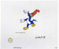 "Animation Art:Production Cel, ""The Woody Woodpecker Show"" Animation Production Cel and Clean-UpDrawing Original Art (Walter Lantz Productions, 1957). The...(Total: 3 Items)"