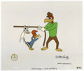 "Animation Art:Production Cel, ""Show Biz Beagle"" Animation Production Cel and Clean-Up DrawingOriginal Art, Group of 4 (Walter Lantz Productions, 1972). T...(Total: 4 Items)"