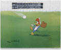 "Animation Art:Limited Edition Cel, ""Fly Ball"" Limited Edition Hand Painted Cel #188/200 Original Art (Walter Lantz Productions, 1992). This hand painted limite... (Total: 2 Items)"