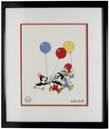 "Animation Art:Limited Edition Cel, ""Party Pals"" Limited Edition Serigraph Cel Original Art (WalterLantz Productions, 1997). It's party time with Woody Woodpec..."