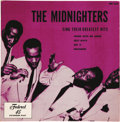 """Music Memorabilia:Recordings, Hank Ballard & The Midnighters """"The Midnighters Sing Their Greatest Hits"""" EP Federal 333 (1954). This swinging EP's cover ju..."""