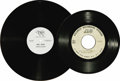 Music Memorabilia:Recordings, Bee Gees Acetate Group of 3 (1971-77). We've garnered a nice groupof your favorite Brother Gibbs (Gibbses? Gibbseses?). Sta...