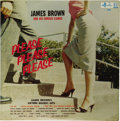 """Music Memorabilia:Recordings, James Brown """"Please Please Please"""" LP King 610 (1958). Here's asuperfine copy of the first album release from """"The Godfathe..."""