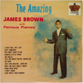 """Music Memorabilia:Recordings, """"The Amazing James Brown and the Famous Flames"""" LP King 743 (1961).Sensational copy of one of Brown's early albums, before ..."""