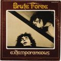 "Music Memorabilia:Recordings, Brute Force ""Extemporaneous"" LP B.T. Puppy 1015 (1971). Eccentric,bizarre... genius? Such a fine line, and the artist known..."