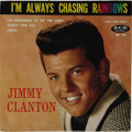 """Music Memorabilia:Recordings, Jimmy Clanton """"I'm Always Chasing Rainbows"""" EP Ace 103 (1959). Theteen idol's EPs can be difficult to run down, and this ma..."""