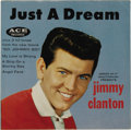 "Music Memorabilia:Recordings, Jimmy Clanton ""Just A Dream"" Promo EP Ace 60765/ 60766 (1959).White label promo copy from Green Mint Mouthwash came in a co..."