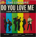 """Music Memorabilia:Recordings, The Contours """"Do You Love Me"""" LP Gordy 901 (1962). The title cut originally hit #3 on Billboard's Hot 100, and it never real..."""