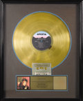 "Music Memorabilia:Awards, Taylor Dayne ""Tell It to My Heart"" Gold Album Award. Presented toJune Colbert to commemorate the sale of 500,000 copies of ..."