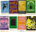 Music Memorabilia:Tickets, Fillmore Concert Tickets Group of Eight (Bill Graham Presents,1968-70). A beautiful batch of tickets that feature some of t...(Total: 8 )