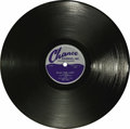 "Music Memorabilia:Recordings, Flamingos ""Plan For Love"" 78 Chance 1149 (1953). The legendary doo-wop group first recorded for this Chicago label, and this..."