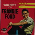 """Music Memorabilia:Recordings, The Best of Frankie Ford EP Ace 105 (1959). The title begs the question, """"So what's on the EP besides 'Sea Cruise'?"""" The ans..."""