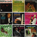 Music Memorabilia:Recordings, Marvin Gaye Group of 9 Albums (1963-69). Quite a collection fromone of Motown's most legendary voices. This incredible grou...