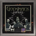 "Music Memorabilia:Awards, Godsmack ""Awake"" Platinum Album Award. Presented to producer ArmaAndon by the RIAA to commemorate the sale of one million c..."